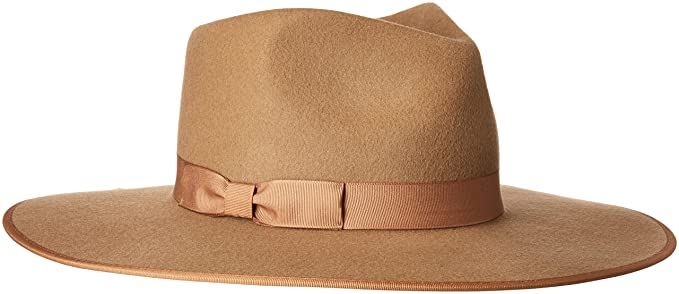 Lack of Color Women s Teak Rancher Wool Felt Fedora Light Brown MD (57cm) 36be416d9