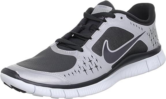 Publicación Confidencial Visible  Amazon.com | Nike Free Run+ 3 Shield Running Shoes - 8.5 - Black | Running