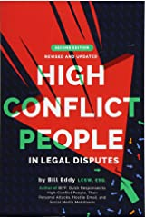 High Conflict People in Legal Disputes Paperback