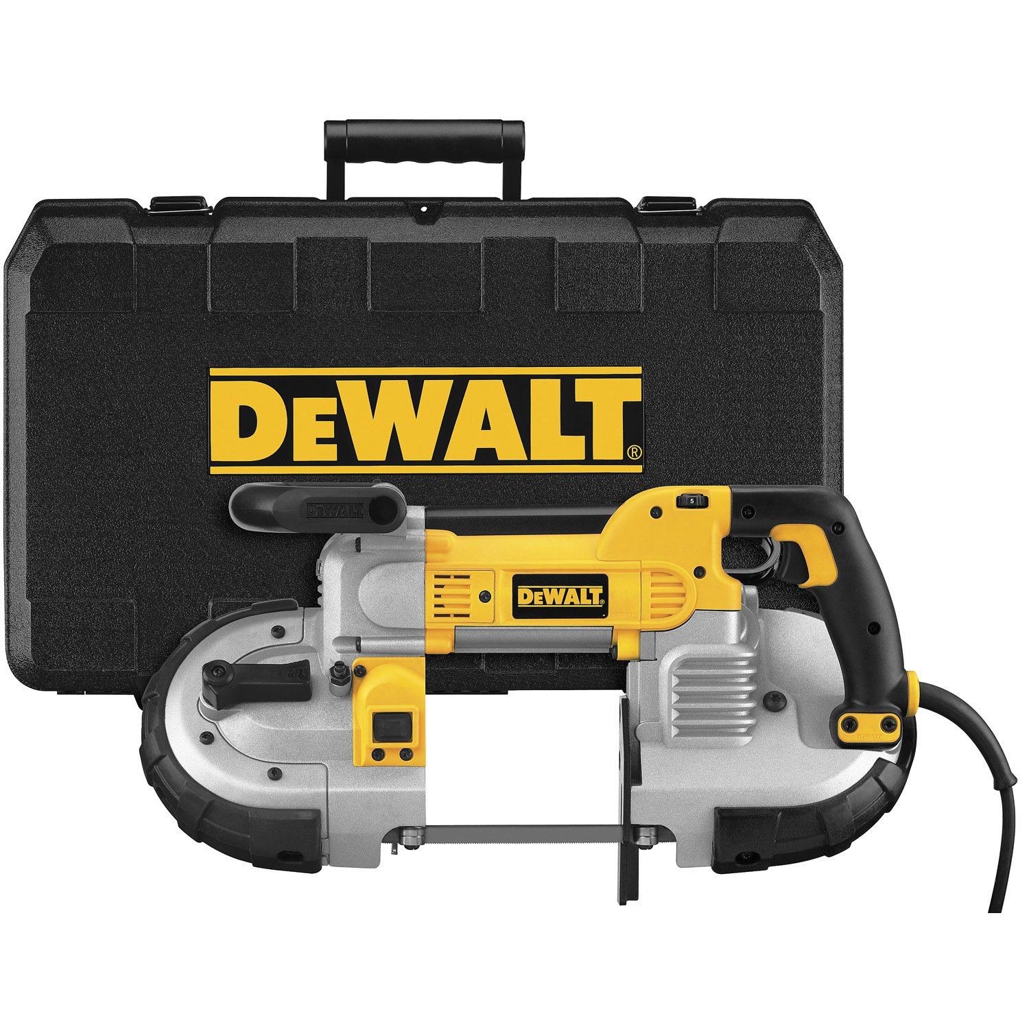 Dewalt dwm120k 10 amp 5 inch deep cut portable band saw kit power dewalt dwm120k 10 amp 5 inch deep cut portable band saw kit power band saws amazon greentooth Images
