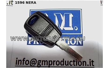 G.M. Production - f1596nero - Caparazón carcasa llave FIAT ...