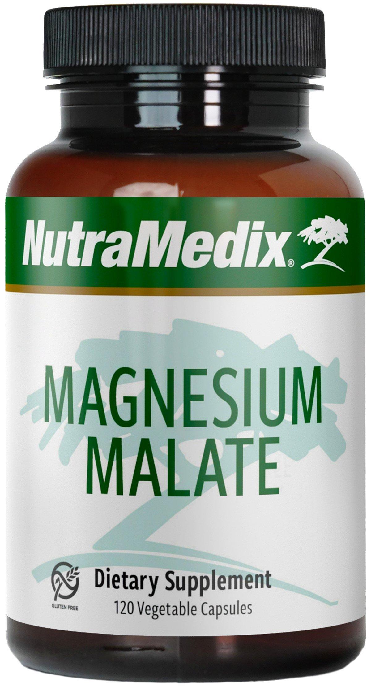 NutraMedix - Magnesium Malate, 120 Vegetarian Capsules