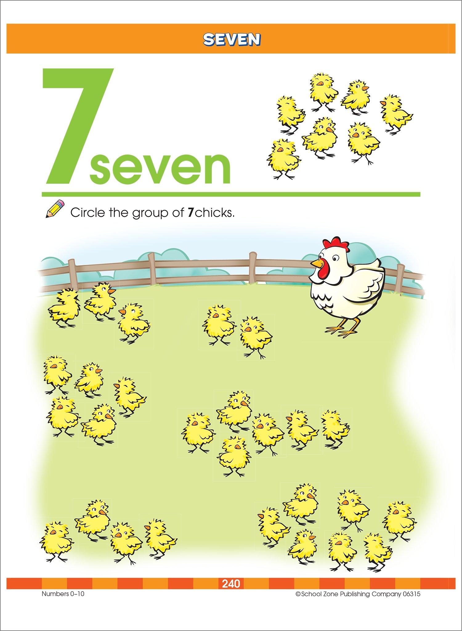 Worksheets School Zone Publishing Worksheets big preschool workbook school zone staff multiple illustrators 9780887431456 amazon com books