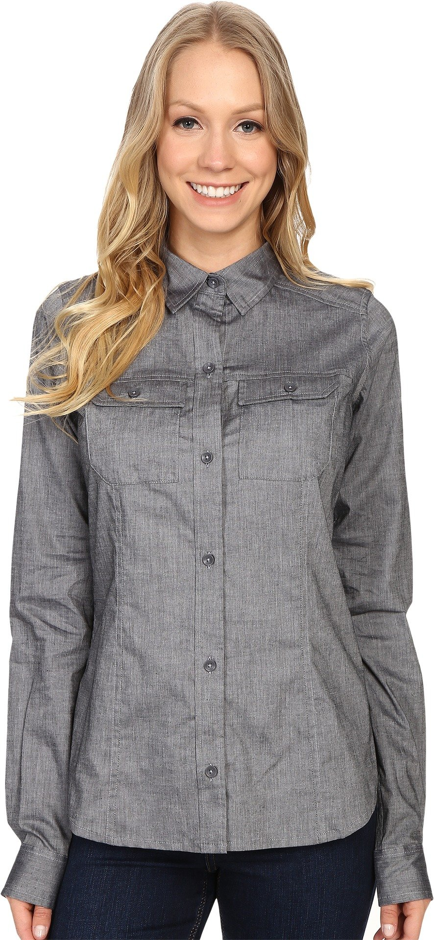 Arc'teryx Ballard LS Shirt - Women's Denim X-Large