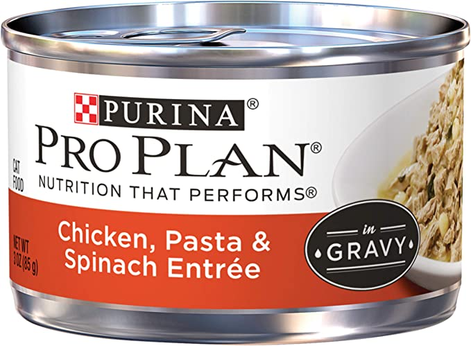 Purina Pro Plan high calorie Canned Cat Food