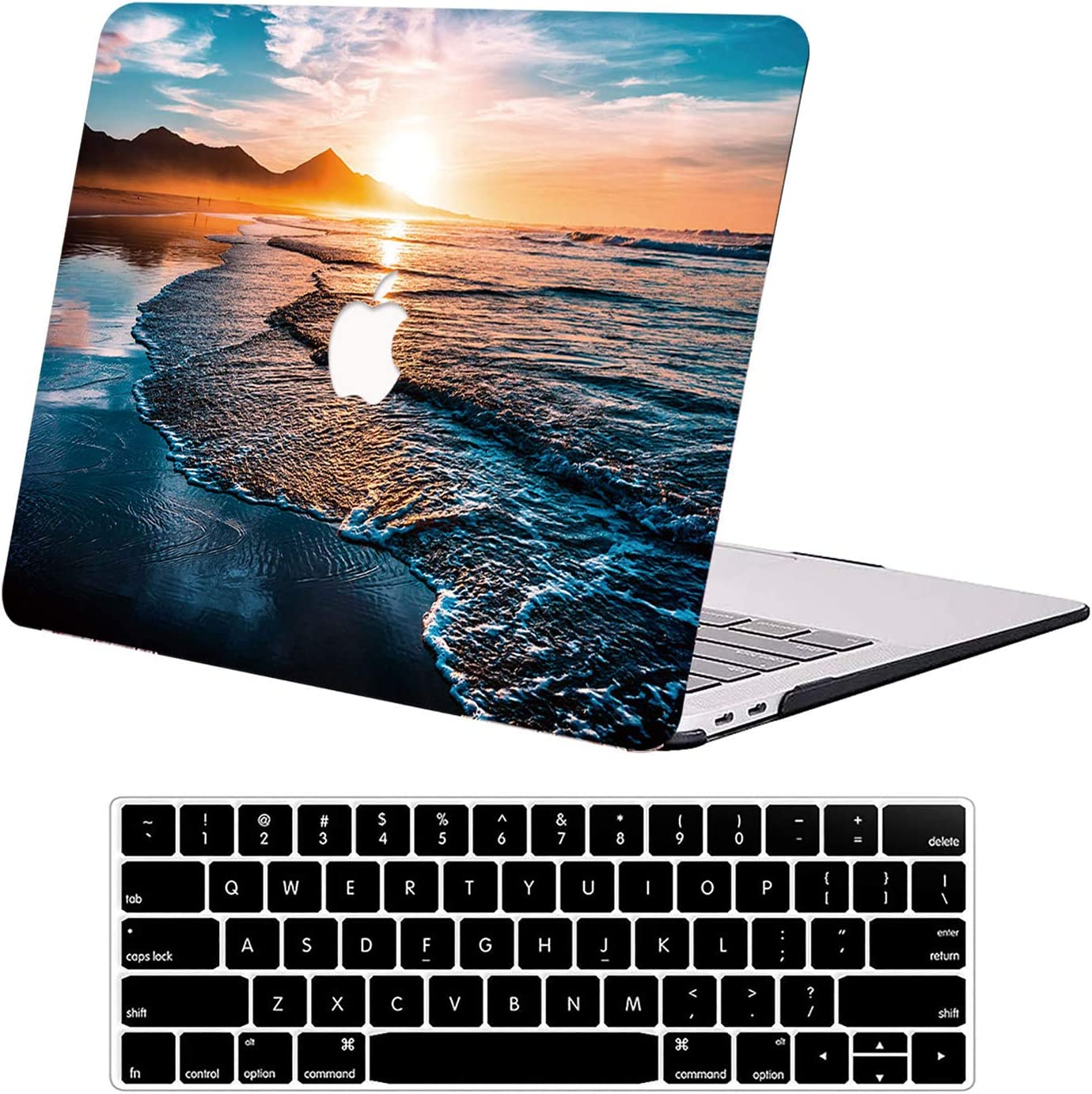 Compatible with MacBook Pro 13 inch Case 2020 A2338 M1 A2251 A2289 A2159 A1989 DTangLsm Rubberized Plastic Hard Shell Case&Keyboard Cover Slim Laptop Shell for 13inch Mac Pro 2016-2020 Release, Sunset