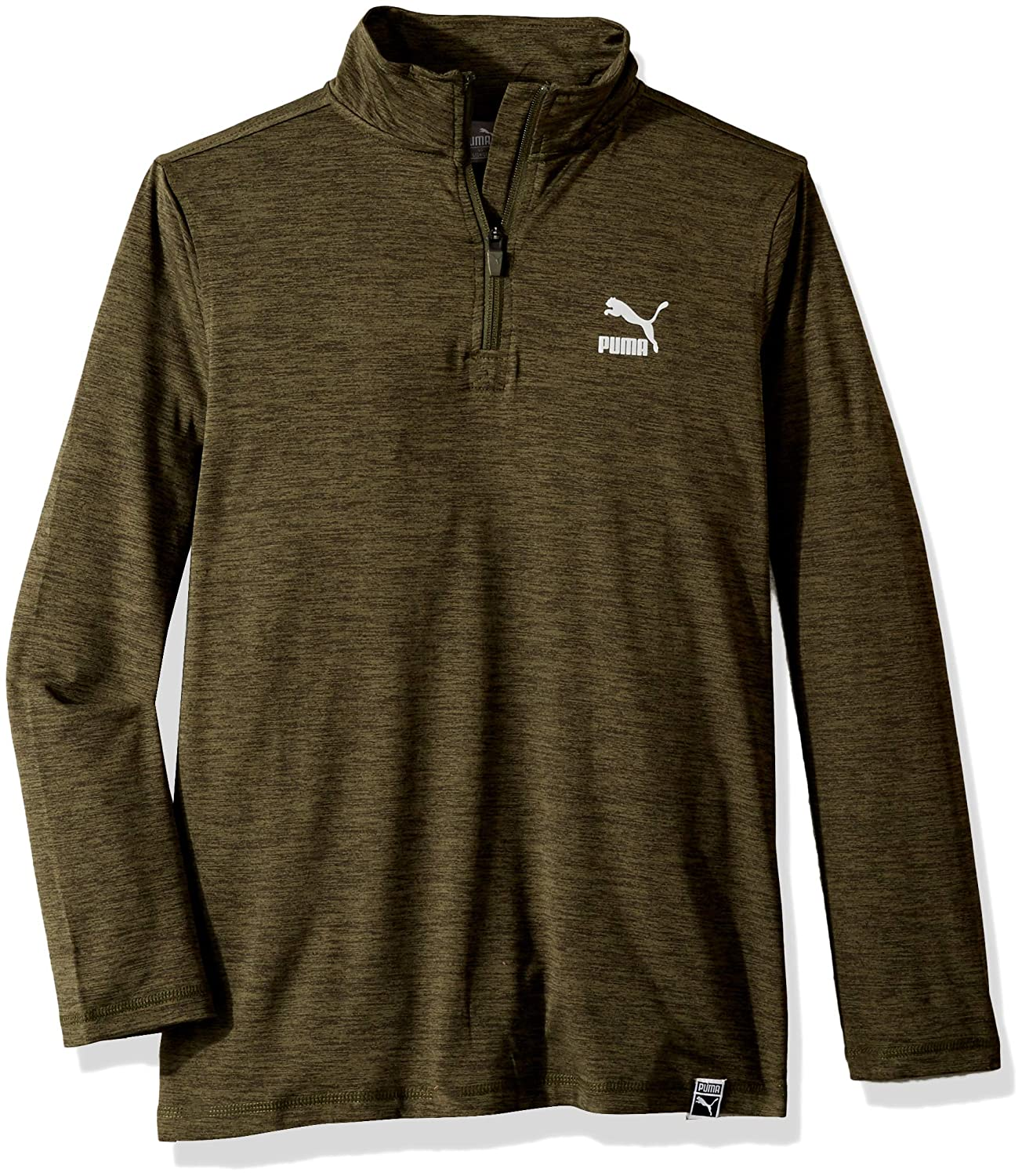 PUMA Boys' Quarter Zip Pullover
