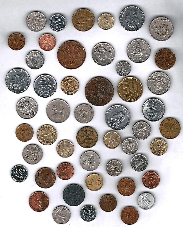 Moenich World Coin Grab Bag - 50 Coin Assortment (Original Version)