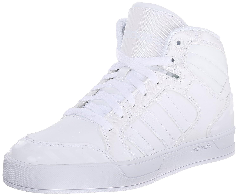 adidas Neo Women's Raleigh Mid W Casual Sneaker B010EK0V5Y 8.5 B(M) US White/White/White