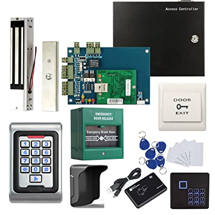 Amazon.com : 1 Door Access Control Panel System Kit with Metal ... on electrical diagrams, pinout diagrams, hvac diagrams, engine diagrams, electronic circuit diagrams, transformer diagrams, battery diagrams, series and parallel circuits diagrams, sincgars radio configurations diagrams, motor diagrams, lighting diagrams, gmc fuse box diagrams, honda motorcycle repair diagrams, troubleshooting diagrams, friendship bracelet diagrams, switch diagrams, led circuit diagrams, internet of things diagrams, smart car diagrams,