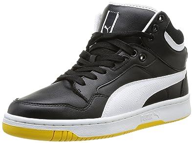 77d8999ea765 Puma Men s Rebound Fs4 Mid L Sneakers black Size  6  Amazon.co.uk ...