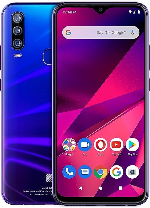 BLU G9 Pro - Smartphone Full HD de 6,3 pulgadas con cámara principal triple, 128 GB + 4 GB de RAM: Amazon.es: Electrónica