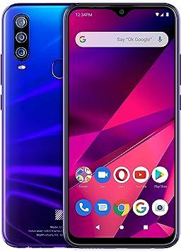 "BLU G9 Pro -6.3"" Full HD Smartphone with Triple Main Camera, 128GB+4GB RAM -Nigh"