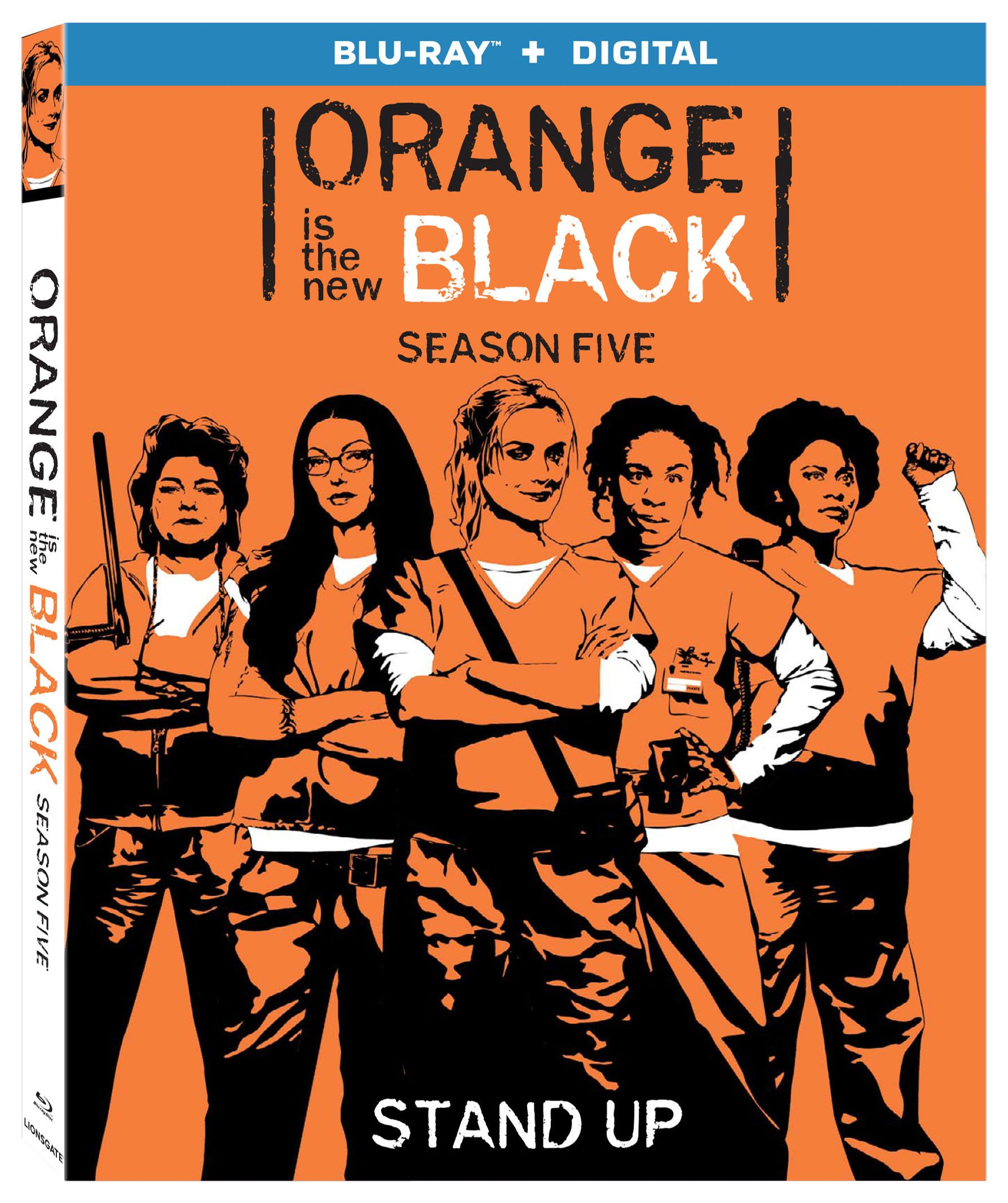 Blu-ray : Orange Is the New Black: Season Five (3 Pack, Widescreen, , Digital Theater System, 3 Disc)