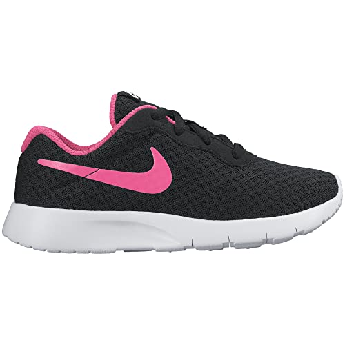Nike Tanjun Girls Running Shoes Black/White/Pink tD3578H