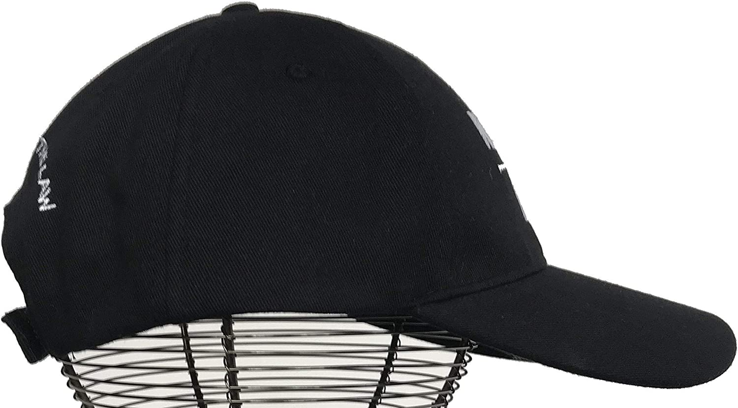 Baseball Cap for Patriotic America Quality 100/% Cotton Black Hat No One is Above The Law Election 2020 Campaign Clothing