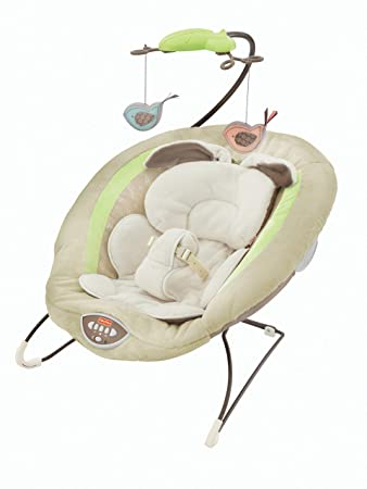 Fisher-Price Deluxe Bouncer My Little Snugabunny  sc 1 st  Amazon.com & Amazon.com : Fisher-Price Deluxe Bouncer My Little Snugabunny ...