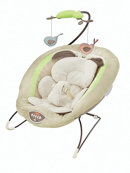 d8476bf5c Fisher-Price Deluxe Bouncer, My Little Snugabunny: Amazon.com.mx: Bebé