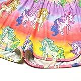 Little Girls Pajamas Set Unicorn Teen Summer