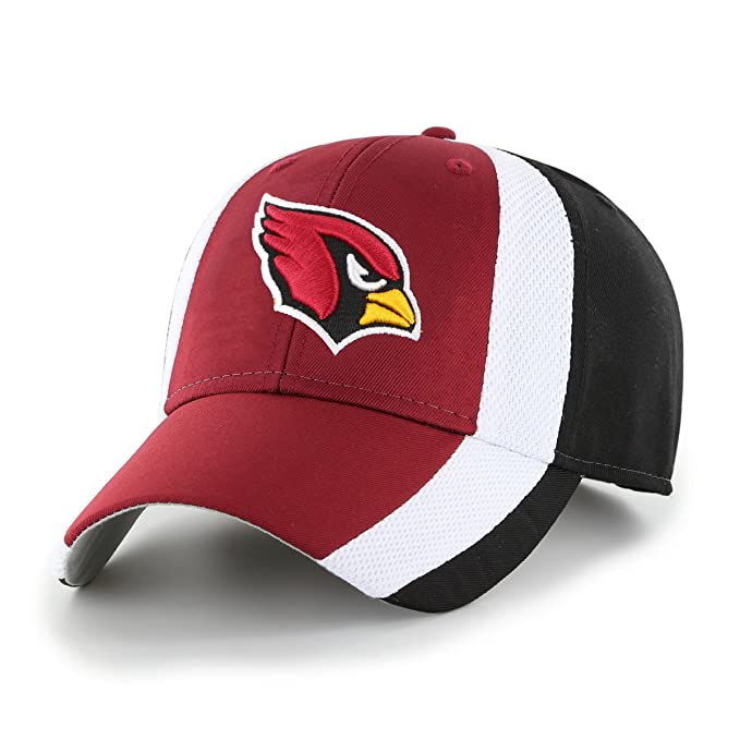 best service 0d924 3569d Amazon.com   NFL Arizona Cardinals Adult Select Ots All-Star MVP Adjustable  Hat, One Size, Black   Clothing