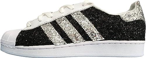 scarpe adidas superstar con tessuto