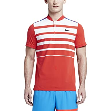 Amazon.com : NIKE Men's Dri-Fit Nikecourt Premier RF Tennis Polo Shirt-Light  Crimson/White-2XL : Sports & Outdoors