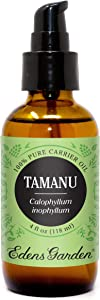 Edens Garden Tamanu Carrier Oil (Best For Mixing With Essential Oils), 4 oz