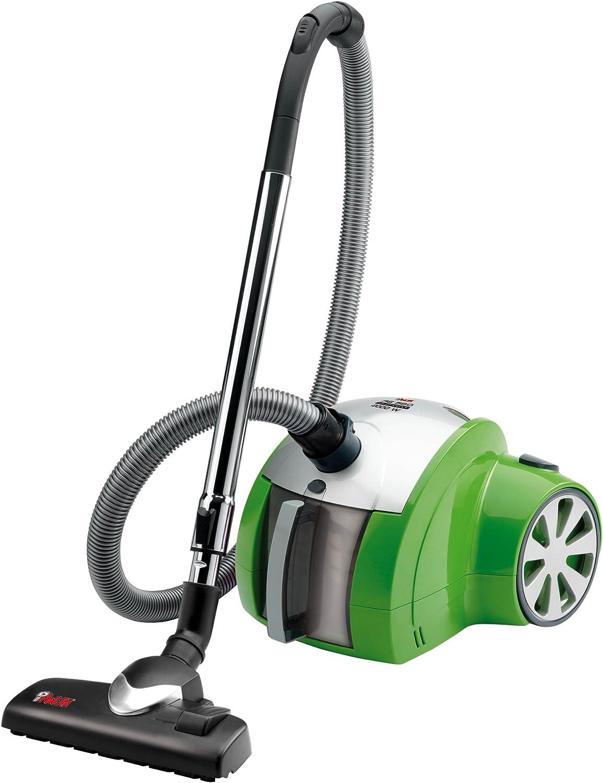 Polti - Aspirador As580, 2000W, Sin Bolsa 0.7L, Amarillo, Filtro Hepa, Turbo, Cepillo: Amazon.es: Hogar