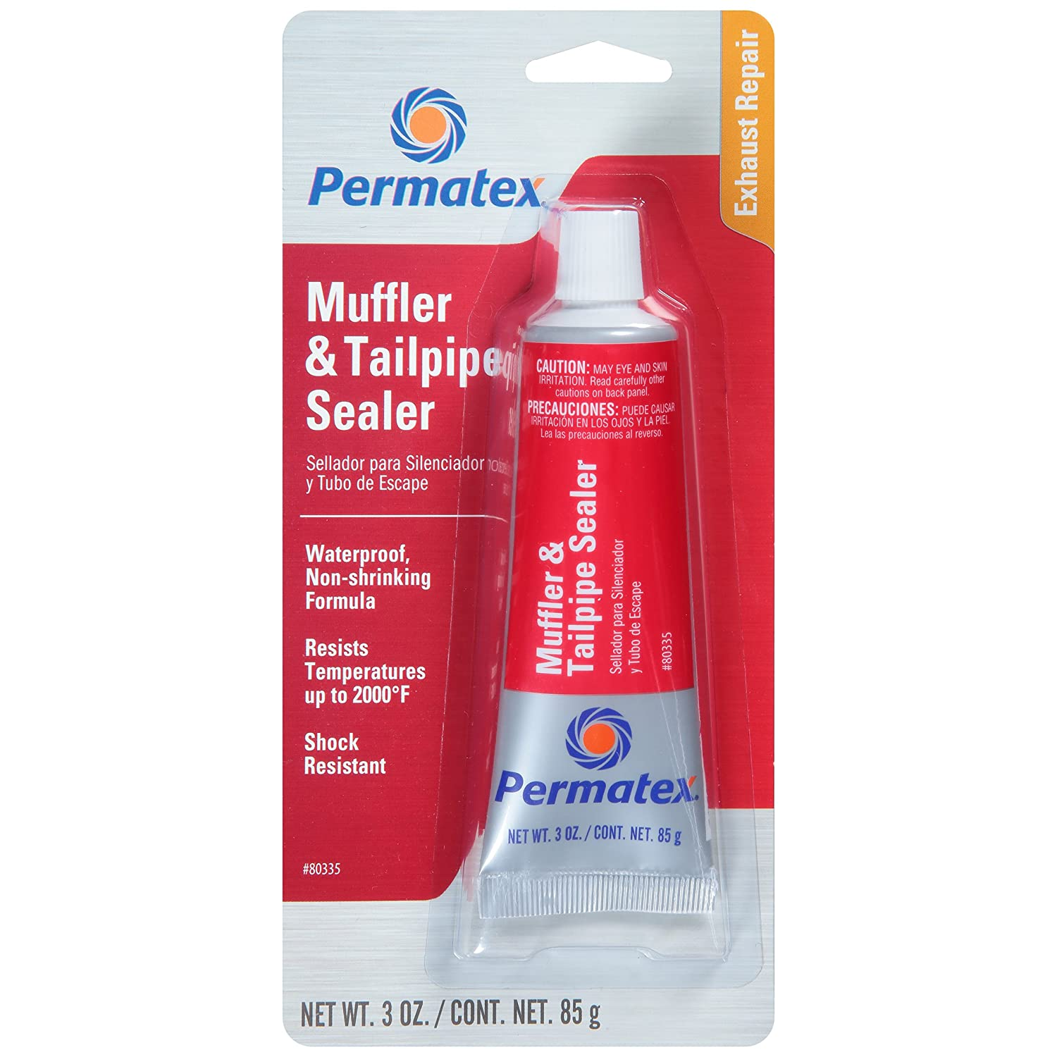 Permatex 80335 Muffler and Tailpipe Sealer, 3 oz : Amazon ca: Automotive