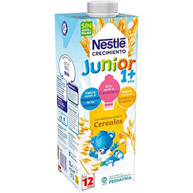 Nestlé - Junior Crecimiento Cereales A Partir De 1 Año (1 L): Amazon.es: Alimentación y bebidas