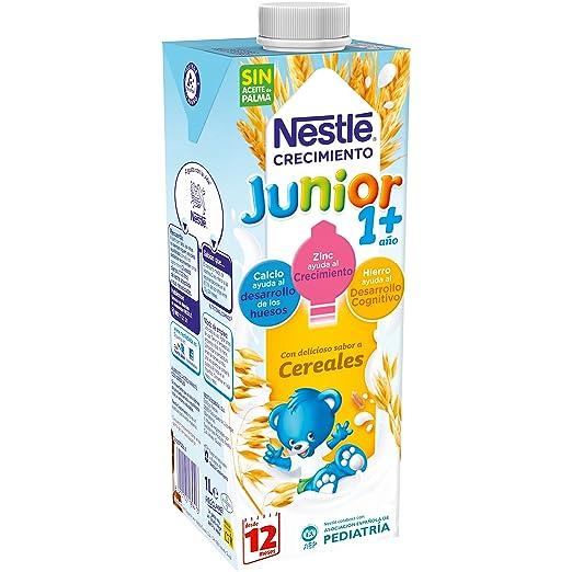 Nestlé Junior 1+ Cereales Leche para niños a partir de 1 año ...