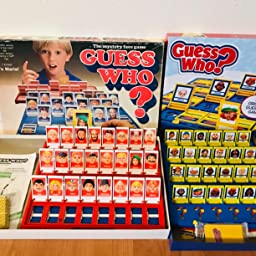 Guess who 1987 Spare Pieces choose your piece