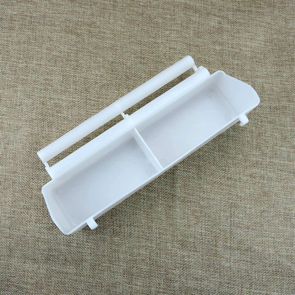 MUDUOBAN Window Pet Bird Water Feeder Cup Standing Frame Plastic Food Feeder Device for Parrots Budgie Cockatiel Poultry Pigeon Quail Cages Feeder
