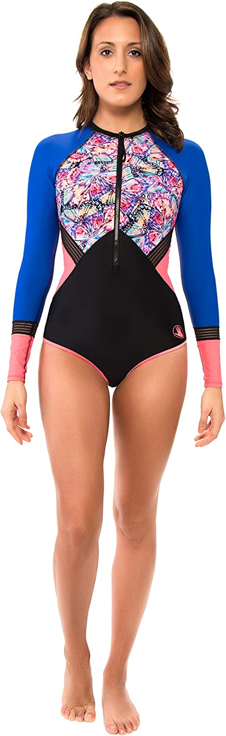 Body Glove Womens Fly Surface Surf Suit Swimsuit