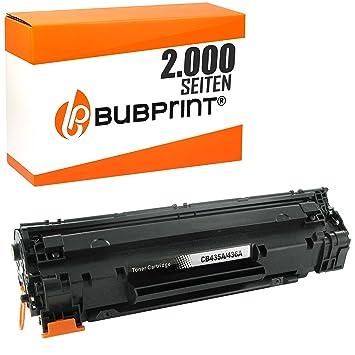 Bubprint Toner Compatible con HP Laserjet P1005 P1006 P1007 P1008 ...