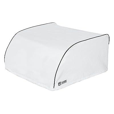 White Domestic Brisk II RV Air Conditioner Cover