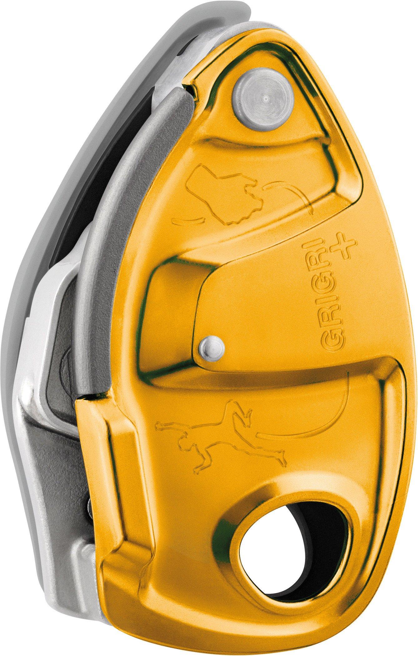 PETZL Grigri Plus Belay Device - AW19 - One - Orange by PETZL