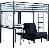 Amazon Com Coaster Fine Furniture 460273 Convertible Loft