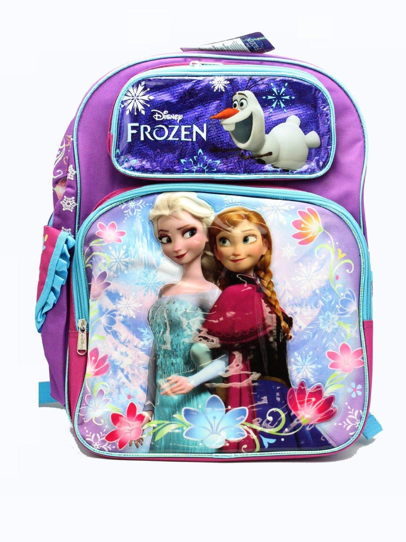 Backpack - Disney - Frozen Elsa & Anna Sisters Stick Together 16