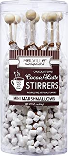 product image for Gourmet Mini Marshmallow Chocolate Stirrers Hand Poured for Tea Coffee Hot Chocolate