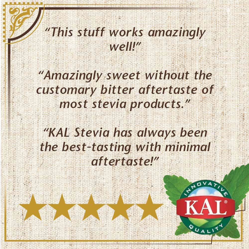 KAL Sure Stevia Extract Powder, 3.5 OZ. | Best-Tasting, Zero Calorie, Low Glycemic | 1820 Servings by KAL (Image #5)