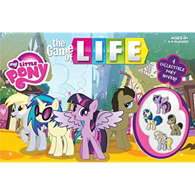 THE GAME of LIFE: My Little Pony: Game: Toys & Games