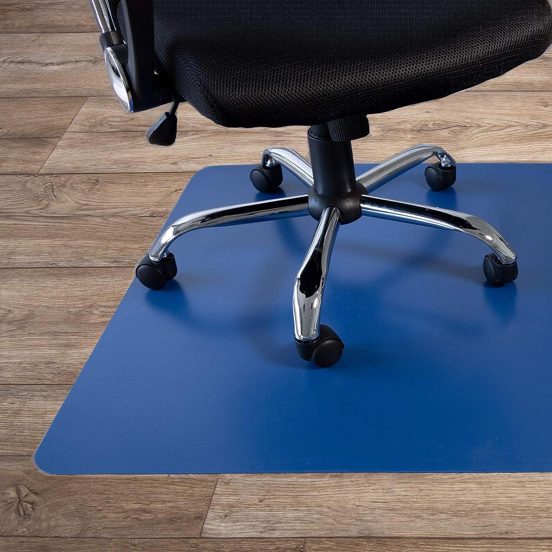 Bürostuhlunterlage farbig