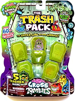 Trash Pack Gross Zombies 5 Pack by Trash Pack: Amazon.es: Juguetes y juegos