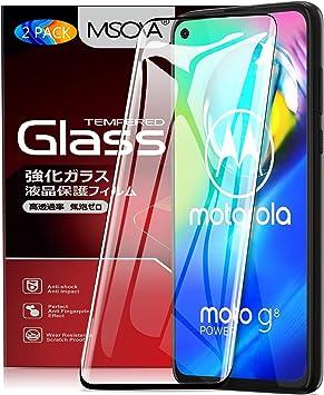 MSOVA para Moto G8 Power Protector de Pantalla, Cristal Templado ...