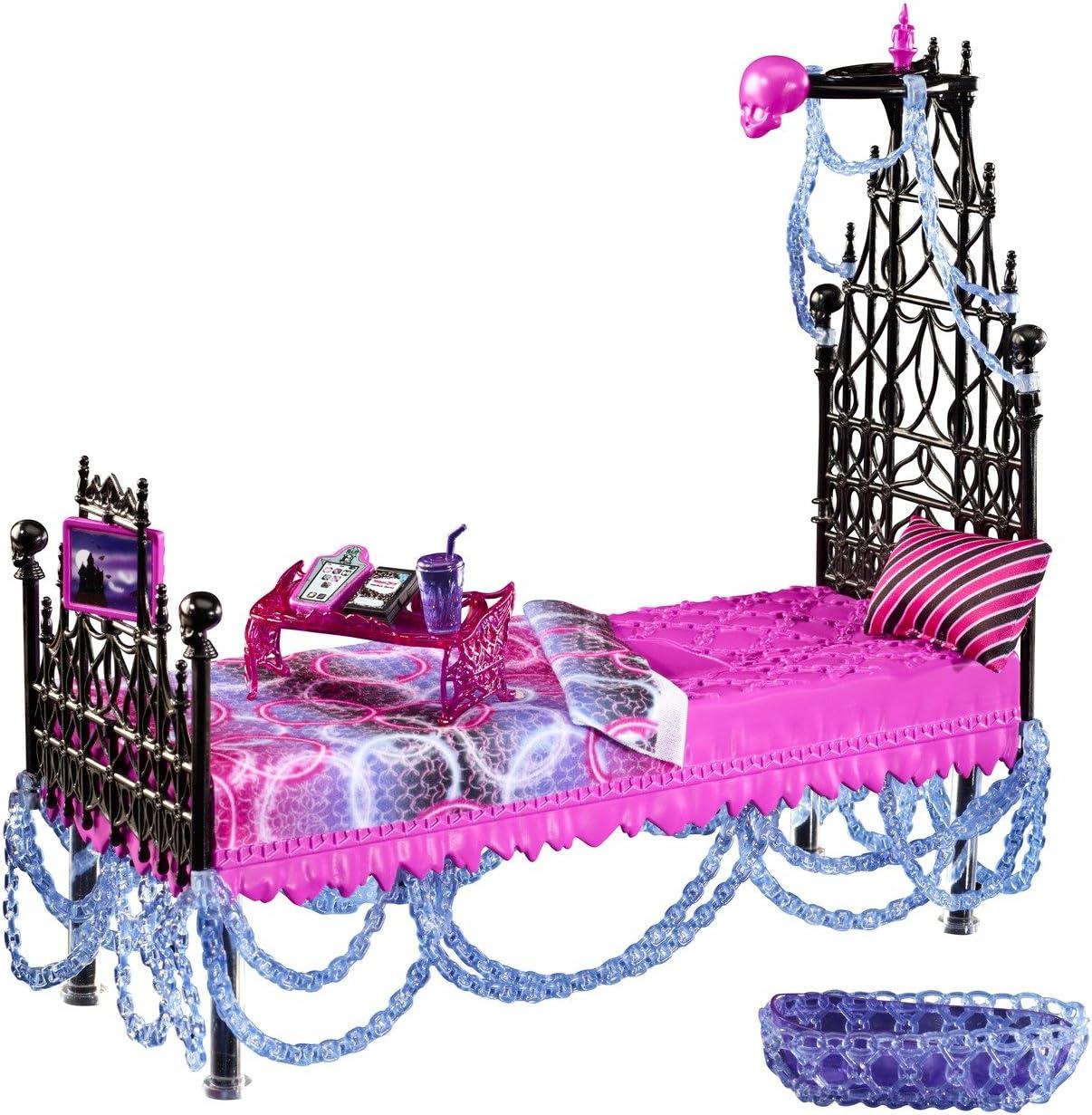 Amazon.es: Monster High Mattel Y7714 - Accesorios para Dormitorio de muñeca Spectra Vondergeist: Juguetes y juegos