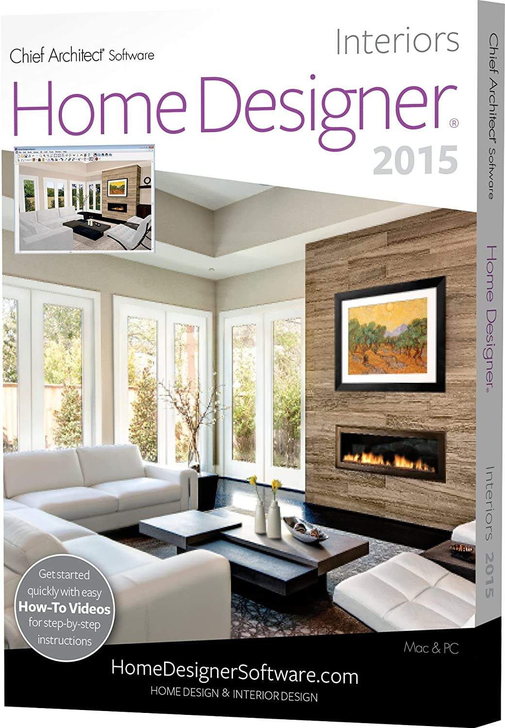 Home Designer Interiors 2015 PC Mac Amazoncouk Software