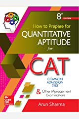 How to prepare for Quantitative Aptitude for the CAT Kindle Edition