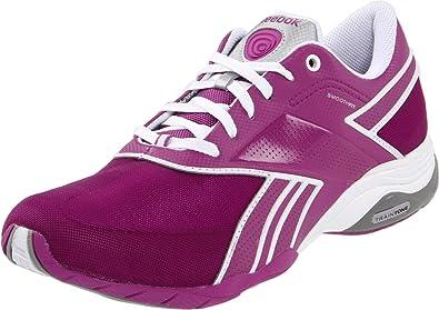 tocino ambición Aplaudir  Reebok 150236 - Zapatillas deportivas de nailon para mujer, Purple/White  Silver 59, 38.5: Amazon.es: Zapatos y complementos