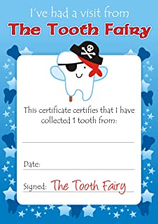 graphic about Printable Tooth Fairy Certificate titled Enamel Fairy Certificates: .united kingdom: Office environment Items